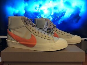 """Off-White Nike Blazer """"All Hallows Eve"""" in size 10"""