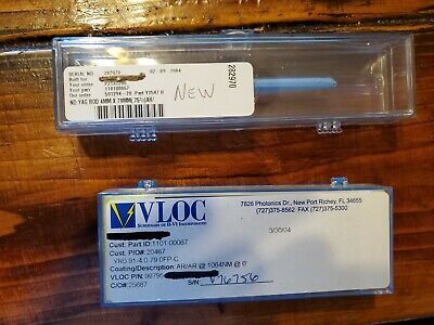 Nd Yag Laser Rod Crystal Ar 1064 - New And Sealed 4mm X 79mm - Price Reduced