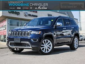 2017 Jeep Grand Cherokee Limited /Leather Seats/BackUp Camera