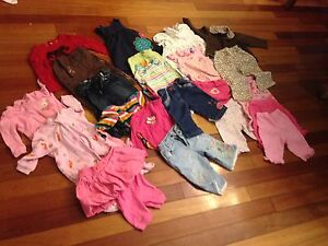 Charming and colorful baby girl outfits 6ms. EVERYTHING INCL. Oakville / Halton Region Toronto (GTA) image 1
