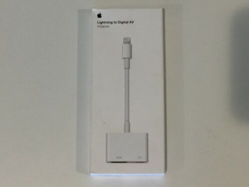 GENUINE Apple Lightning to Digital AV Adapter MD826AM/A OPEN BOX