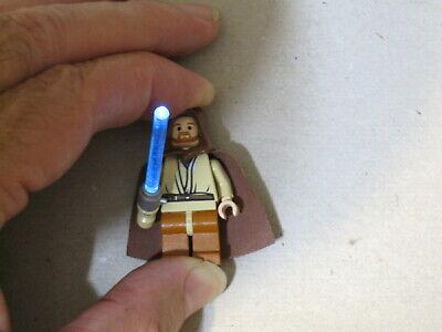 Genuine LEGO® Star Wars Obi-Wan Kenobi Minifigure Light-up Lightsaber 7257