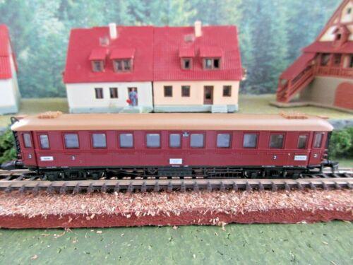 Marklin Z - Mini-Club -  Intercity Class 3 Passenger Car #87960 (LN)