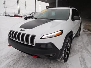 2014 Jeep Cherokee TRAIL HAWK NORTH, 4X4, MAGS, CUIR, NAV, CAMER