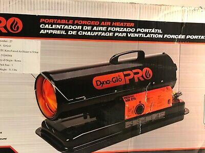 Dyna-Glo Pro 80K BTU Forced Air Kerosene Portable Heater Model KFA80H Btu Forced Air Kerosene Heater