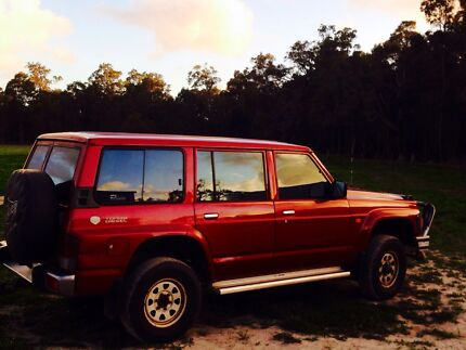 1996 Nissan Patrol Wagon Turbo Diesel 4wd 4x4 Manual Busselton Busselton Area Preview