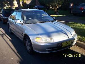 1993 Honda Civic Sedan Quakers Hill Blacktown Area Preview