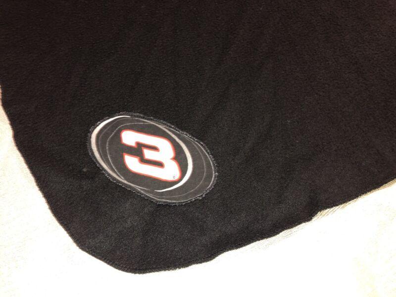 Dale Earnhardt Sr. FLEECE Blanket Throw w/ Appliques