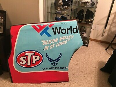 2018 Darrell Bubba Wallace Quarter Panel Sheetmetal! Richard Petty STP Air -