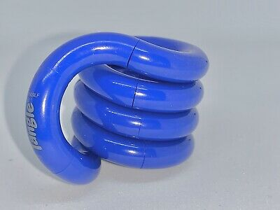 Tangle Jr Classic Blue - Fidget Item ADHD Toy Stress Reliever