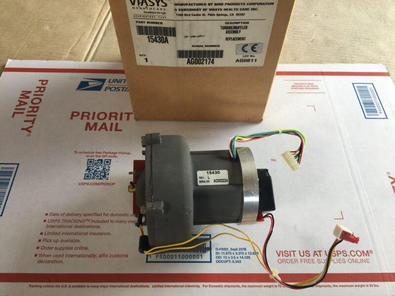 VIASYS VELA 15430A Muffler / Turbine Assembly Bird Products - Ventilator - NEW !
