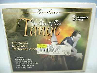 THE BEST OF THE TANGO, Tango Orchestra of Buenos Aires, 2CD Set, Excelsior (Best Of Buenos Aires)