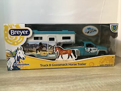Breyer 5356 Stablemates Pick-Up Truck and Gooseneck Trailer New in Box