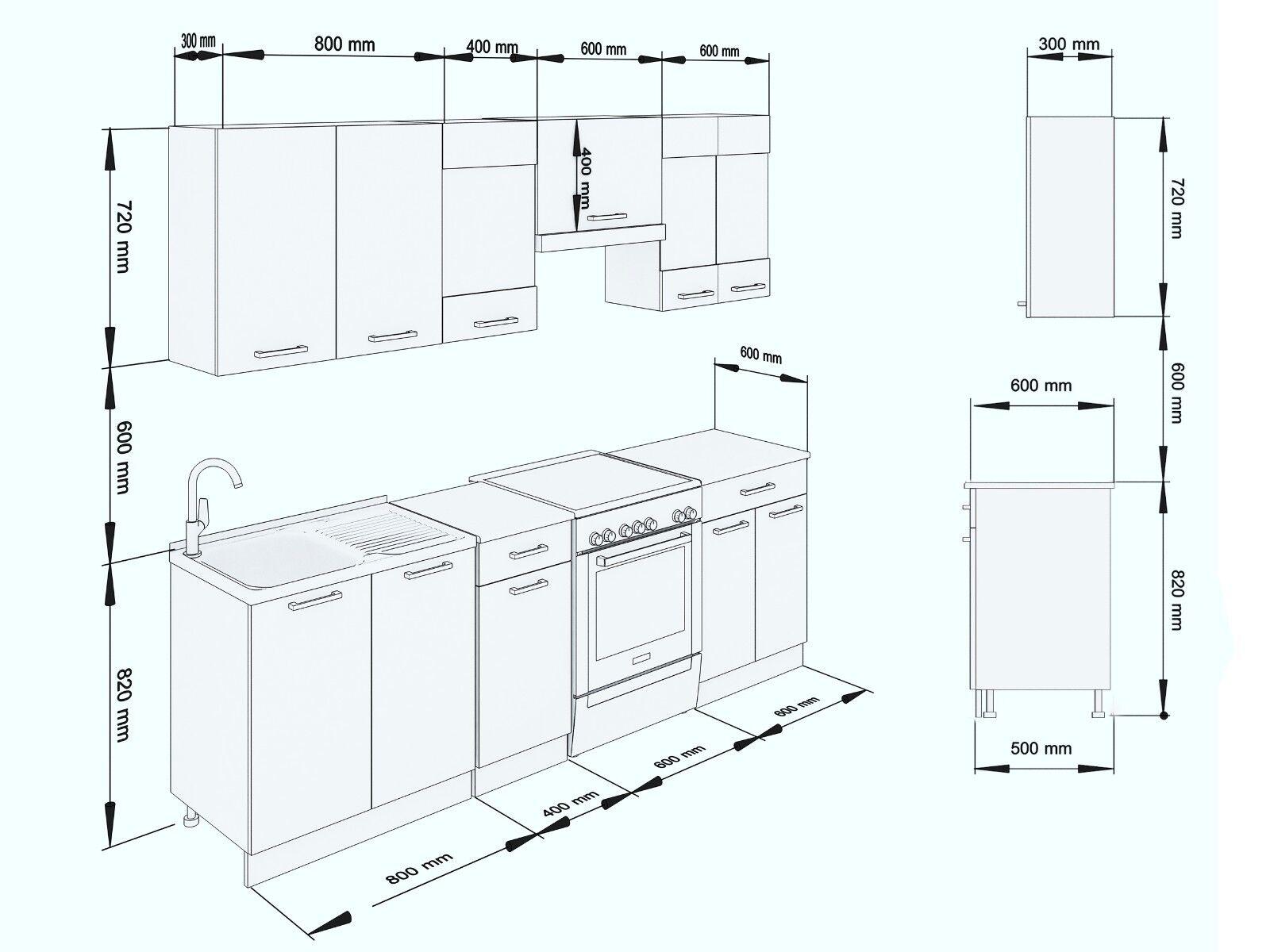 neu k che martha wei lack 240 cm k chenzeile k chenblock einbauk che kueche eur 250 00. Black Bedroom Furniture Sets. Home Design Ideas