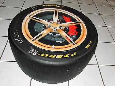 DTM, Porsche Cup ...Racing Rennreifen/Slick  Beistell-Tisch (Deko)