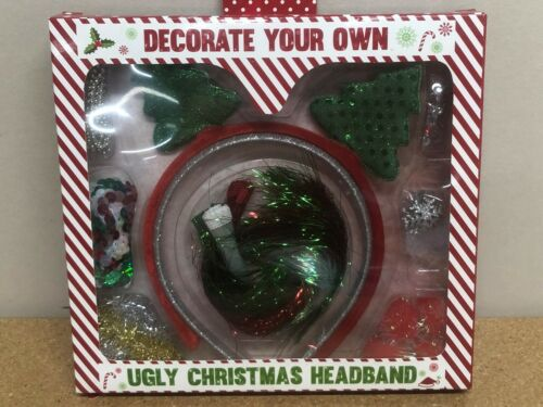 Decorate Your Own Ugly Christmas Headband Craft Kids