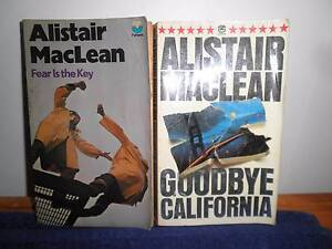 ALISTAIR MACLEAN and COLIN FORBES Crestmead Logan Area Preview