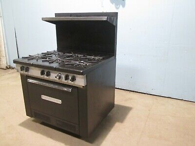 Southbend Commercial Heavy Duty Nsf Natural Gas 6 Burners Stove Woven
