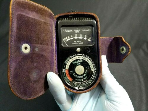 Weston Electrical Instrument Antique Light Meter