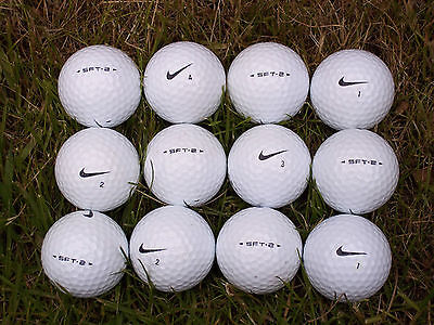 NIKE GOLF BALLS@12 X SFT.2@Grade A@Very good condition@PERFECT Quality@SFT 2@WOW