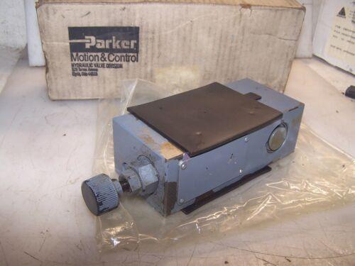 NEW PARKER HYDRAULIC PRESSURE REDUCING VALVE 3000 PSI MAX PRM25K31