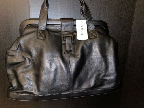 Bodhi Black Weekender Duffle Overnight Bag - $171.00