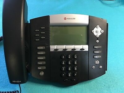 Polycom Soundpoint Ip 650 Ip650 Sip 2201-12630-001 Digital Telephone Phone