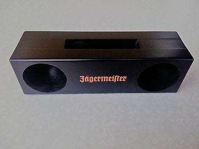 neuer Jägermeister Passiv- Lautsprecher aus Holz-für viele Smartphones geeignet!