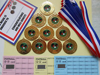 Bowls Medals X 10 Metal/50mm /gold -silver Or Bronze/ Certificates/ Cards - fundraising and medals - ebay.co.uk