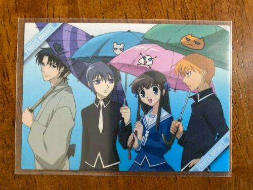 Fruits Basket Rare Movic Collectible Trading Card Special Card #6