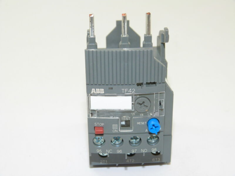 ABB TF42-1.7 Thermal Overload Relay 1.3-1.7a NEW 1yr Warranty