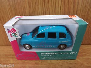Corgi Destination London 2012 Paralympics Model Taxi #20 Swimming