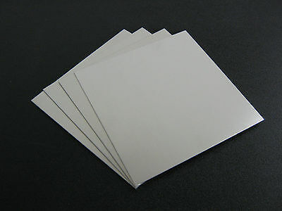 4 Pieces - 116 .062 Thick Aluminum Sheet 5052 H32 -  6 X 6