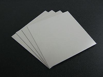4 Pieces - 116 .062 Thick Aluminum Sheet 5052 H32 -  6 X 6