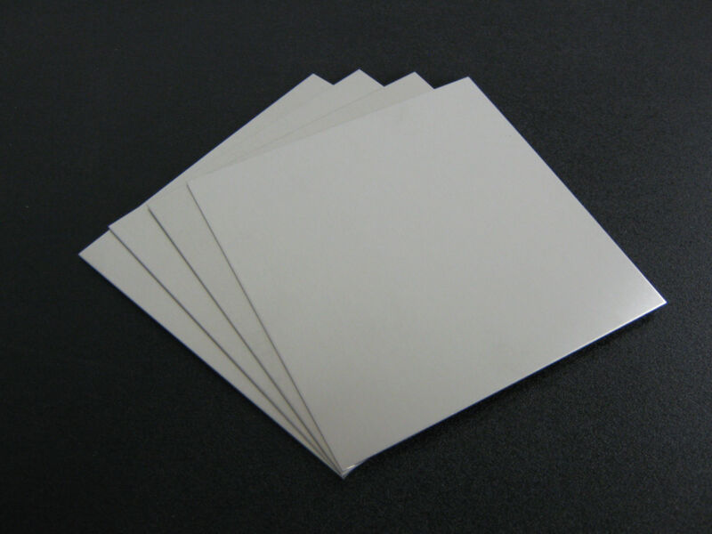 "4 pieces - 1/16"" .062 Thick  Aluminum Sheet 5052 H32  -    6"" x 6"""