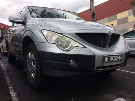 2008 Ssangyong Actyon Sports Ute