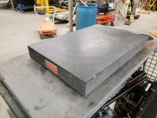 "Mitutoyo A Grade Granite 36""x24""x4"" Free Freight"