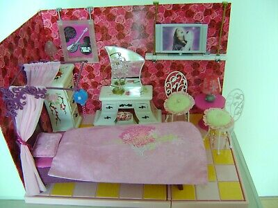 Barbie Fashion Fever Furniture and Build-A-Room-Kit