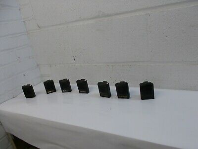Lot of 7 Vintage Motorola Keynote Voice  Pager Police Fire