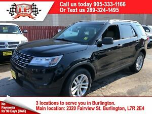 2016 Ford Explorer Automatic, 3 Row Seating, Back Up Camera,