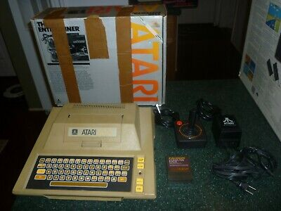 Atari 400 Computer/Game System in the Entertainer Box + Galaxian, works!