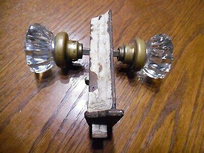 Lot of 2 Large 6 drawer pulls Brass color Salvaged Restoration hardware Door Drawer #463