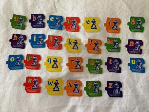 Cracker Jack Popcorn Box Prize Premium Alphabet COMPLETE 2006 SET Lot of 26 ea.
