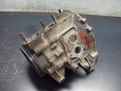 86 1986 POLARIS 250 TRAIL BOSS FOUR WHEELER CRANKCASE CASES TOP BOTTOM CASE