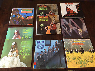 Herb Alpert: SRO-Rise-South of Border-Going Places-Whipped Cream-Best of