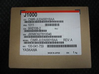 Yaskawa J1000 Variable Frequency Drive Vfd