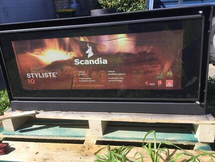 "WOOD HEATER ""BRAND NEW"" Scandia Stlysis 10"