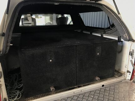Ute storage drawers system for utes & 4X4 Storage Drawers Suit WAGONS UTES VANS and any other | Other ...