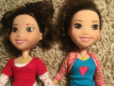 2- iCarly TV show Dolls-Viacom Playmates toys Nickelodeon Chat N Change Dolls for sale  Harbor Beach