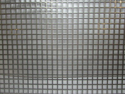 38 Square On 12 Straight Centers 16 Ga Stainless Steel Perforated 12 X 12